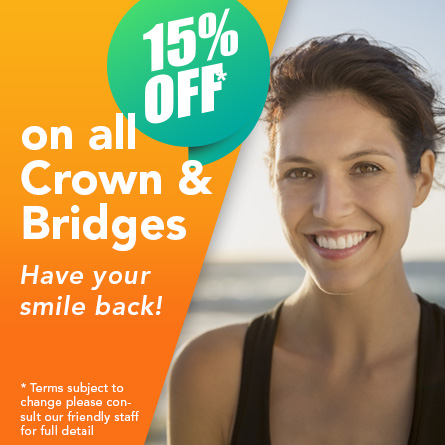 What is the cost of a dental crown?